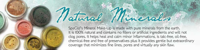 SpaGlo Natural Mineral Makeup
